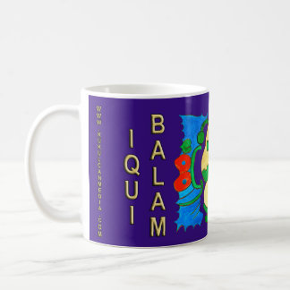 SPIRIT IQUI BALAM- MIDNIGHT BLUE- MAYAN RIVIERA COFFEE MUG