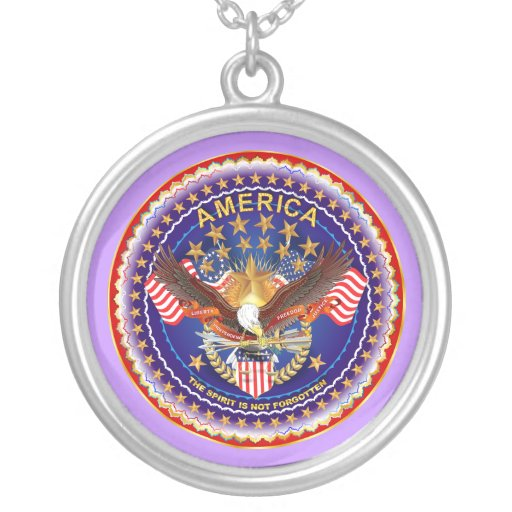 Spirit Is Not Forgotten America Please See Notes Necklace