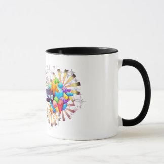 Spirit is Present 11oz ringer mug
