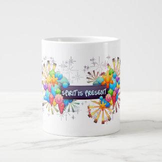 Spirit is Present jumbo mug