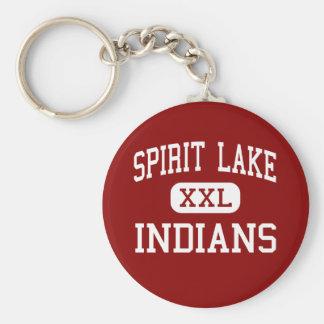 Spirit Lake - Indians - High - Spirit Lake Iowa Key Ring