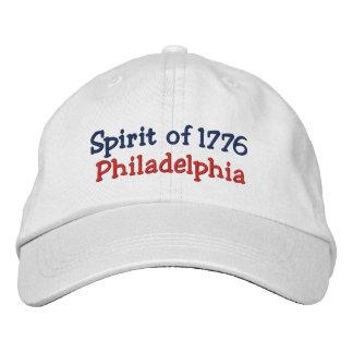 Spirit of 1776 Philadelphia Embroidered Hat
