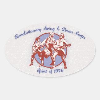 Spirit of 1976 oval sticker