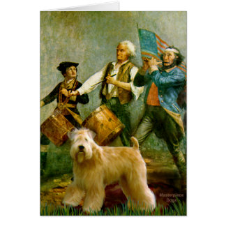 Spirit of 76 - Wheaten Terrier 2B Card