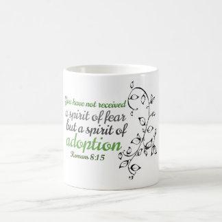 Spirit of adoption basic white mug