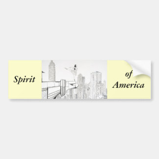 Spirit of America Bumper Stickers