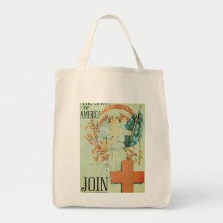 Spirit Of America World War II Tote Bags