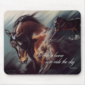 Spirit of Avenger Inspirational Mousepad