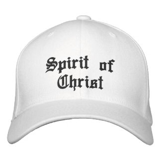Spirit of Christ Embroidered Cap