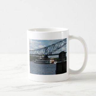 Spirit of Dubuque on Mississippi River Coffee Mug
