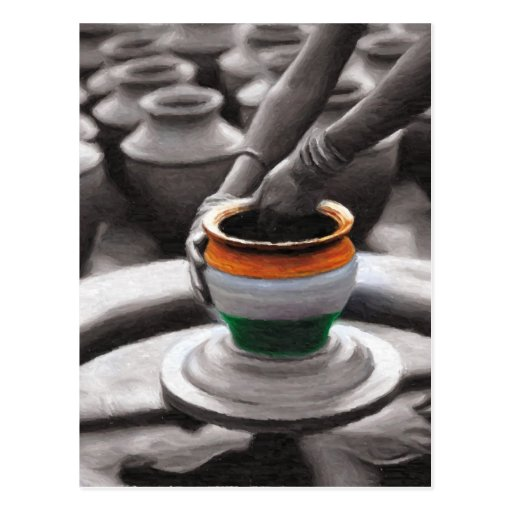 Spirit of India Post Card