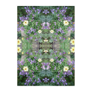 Spirit of Plant Flower Dapple 1 Acrylic Print