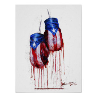 Spirit of Puerto Rican Boxing Posters