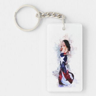 Spirit of Puerto Rico Key Ring