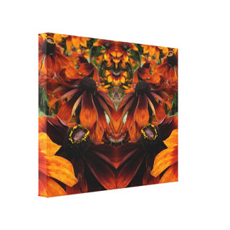 Spirit of Rudbeckia Gallery Wrapped Canvas