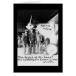 Spirit of St. Louis Aeroplane 1927 Greeting Cards