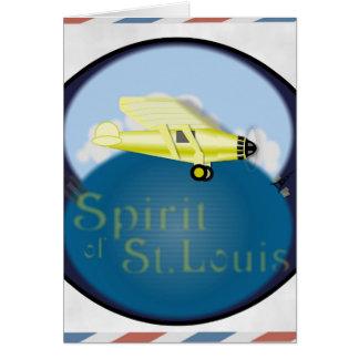 Spirit of St. Louis Greeting Card