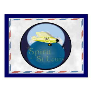 Spirit of St. Louis Postcard