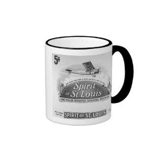 Spirit of St. Louis Vintage Cigar Wrapper Mug