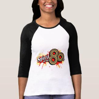 Spirit of the 80 s ladies multi-colour logo tee