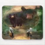 Spirit Of The Bear Art Mousepad