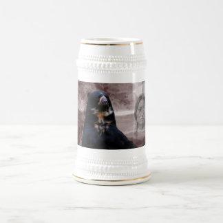 Spirit of the black bear beer stein