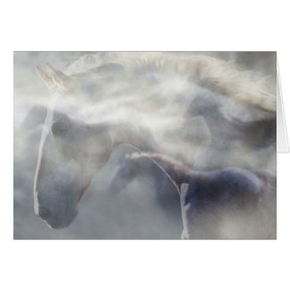 """Spirit of the Horse"" sympathy card"