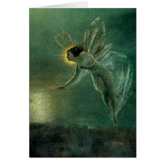 Spirit of the Night by Grimshaw, Victorian Fairy Card