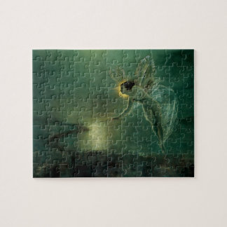 Spirit of the Night by Grimshaw, Victorian Fairy Jigsaw Puzzle