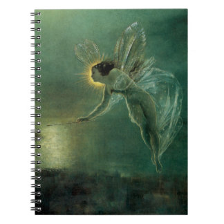 Spirit of the Night by Grimshaw, Victorian Fairy Notebook