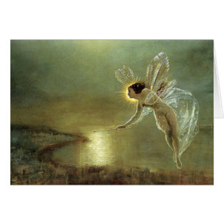 Spirit of the Night by John Atkinson Grimshaw Note Card