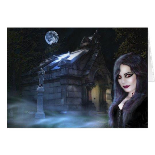 Spirit of the Night, Card