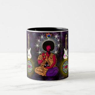 Spirit of the Sixties Two-Tone Coffee Mug