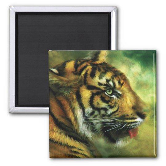 Spirit Of The Tiger Art Magnet