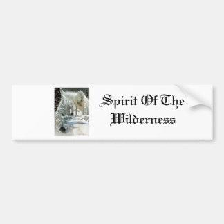 Spirit Of The Wilderness Bumper Sticker