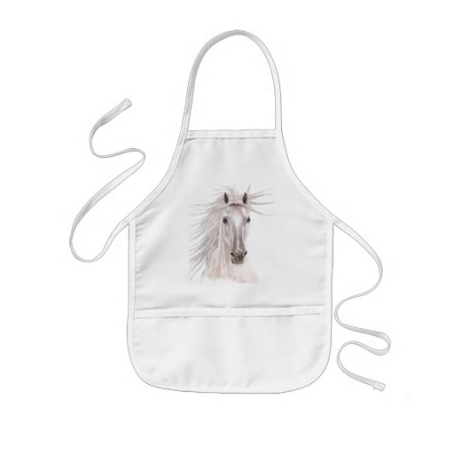 Spirit of the Wind Horse -vintage- Aprons