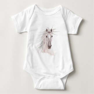 Spirit of the Wind Horse -vintage- Baby Bodysuit