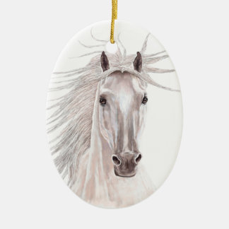 Spirit of the Wind Horse -vintage- Christmas Ornament