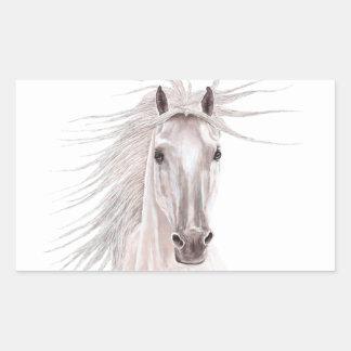 Spirit of the Wind Horse -vintage- Rectangular Sticker