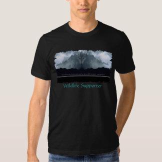 Spirit of the Wolf Wildlife Supporter T-Shirt
