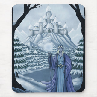 spirit of winter holiday mouse pad