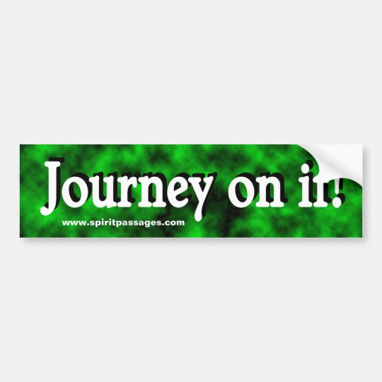 Spirit Passages Journey Bumper sticker
