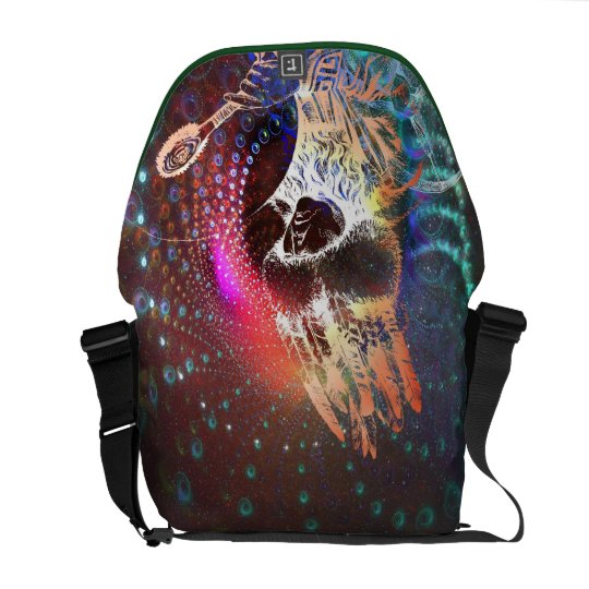 Spirit Passages Shaman Dreams Messenger Bag