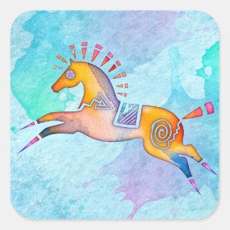 Spirit Pony Animal Totem Stickers