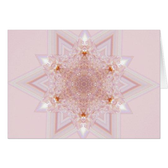 Spirit Quartz (mandala) heart chakra Card