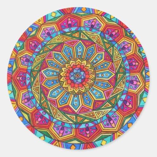 Spirit & Soul, Mandala #10 Sticker