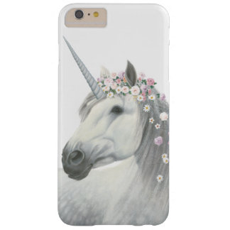 Spirit Unicorn with Flowers in Mane Barely There iPhone 6 Plus Case