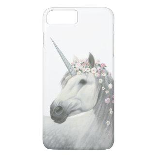 Spirit Unicorn with Flowers in Mane iPhone 8 Plus/7 Plus Case