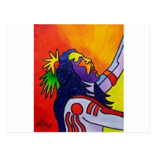 Spirit Warrior by Piliero Post Card