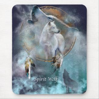 Spirit Wolf Mouse Mat